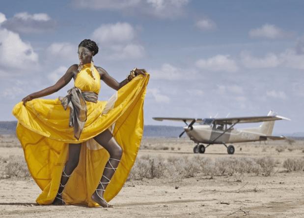 Nike Kondakiss Upcycled Parachute Fashions Help Educate Maasai Girls
