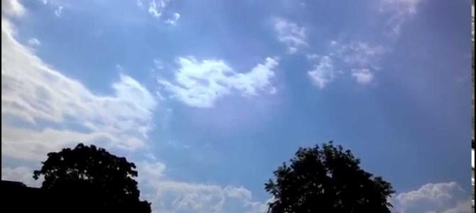 【衝撃映像】自分が雷に打たれる瞬間を本人が撮影していた!