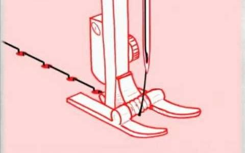 ミシンてこうやって縫えてくのか!一発で良くわかる動画