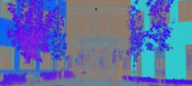 視覚トリック!黒い点を見つめて20秒…その後に目を疑う!