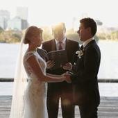 癒されるw 結婚式で誓いの言葉を交わす場面で子供の面白ハプニング