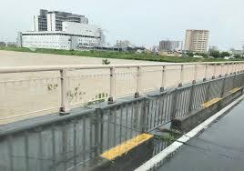 津保川 氾濫! (岐阜県関市)