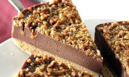 BRZO I BEZ PEČENJA: Nutella cheesecake - torta sa krem sirom i Nutellom