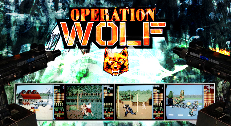 Operation Wolf - Taito 1987 (la de la metralleta)