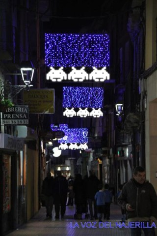 Space Invaders en la Calle Mayor