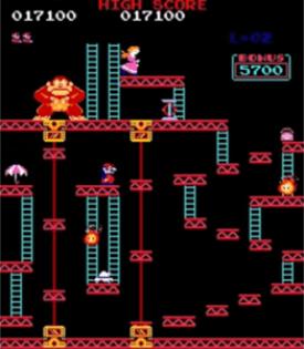 Donkey Kong nivel 3