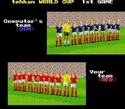 Tehkan World Cup Selecciones
