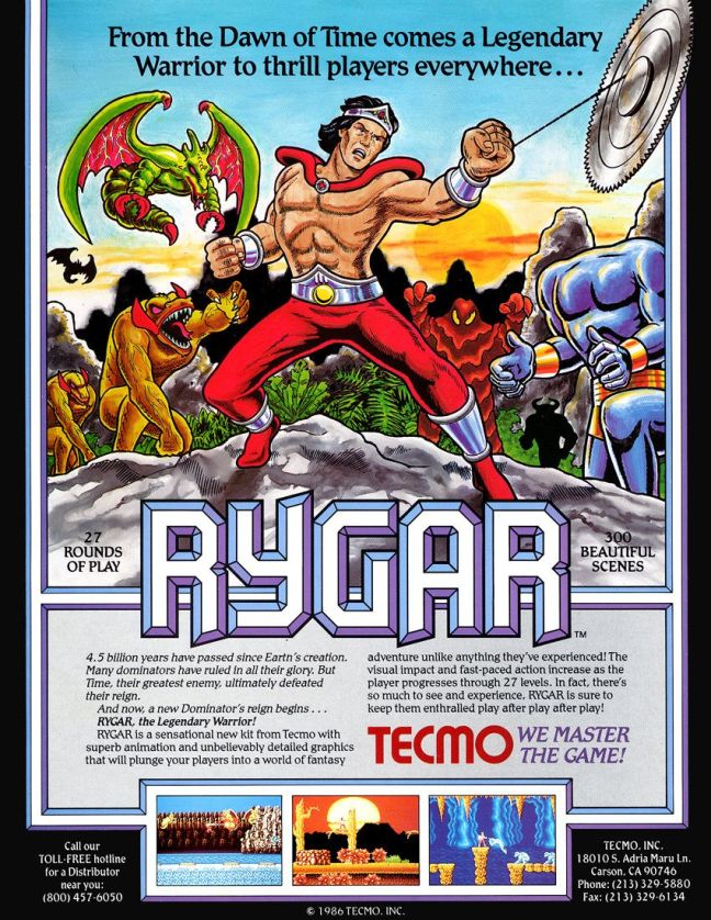 Flyer Rygar