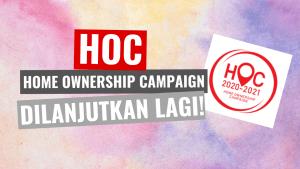 Kempen Pemilikan Rumah Home Ownership Campaign (HOC) 2021