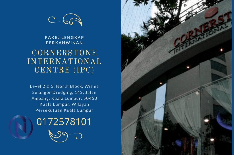 Cornerstone-International-Centre-(IPC)-pakej-perkahwinan