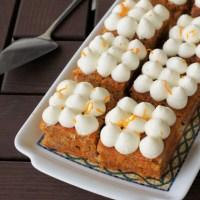 Ciasto marchewkowe, na dużą blachę