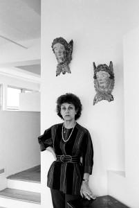 Francoise Gilot fot. Cz. Czapliński