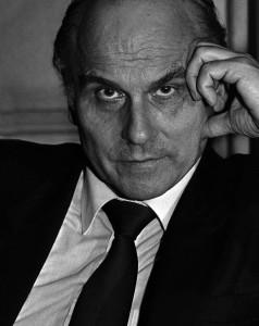 Ryszard Kapuściński, pisarz, Nowy Jork, 1986 fot. Cz. Czapliński