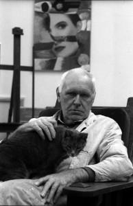 Wojciech Fangor fot. Cz. Czapliński