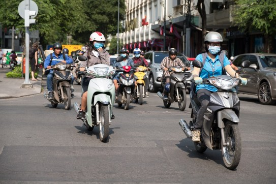 Wietnam, Sajgon. Jesień 2017