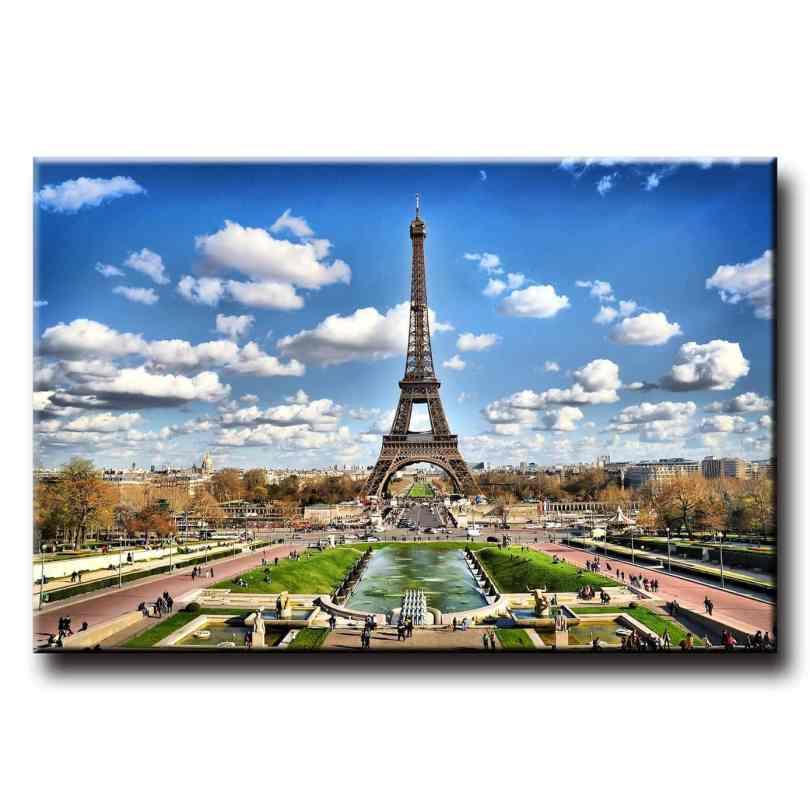 Obraz na stenu Eiffelova veža HDR