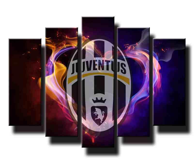 5 dielný obraz na stenu Juventus Turín