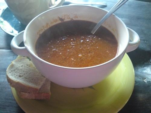 Zupa rybna - Halaszle
