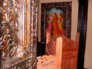 Wnętrze Taj-India