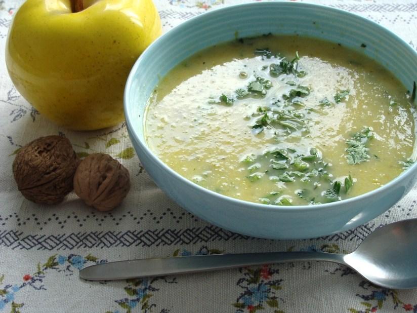 Przepis na zupa krem porowo-pietruszkowa