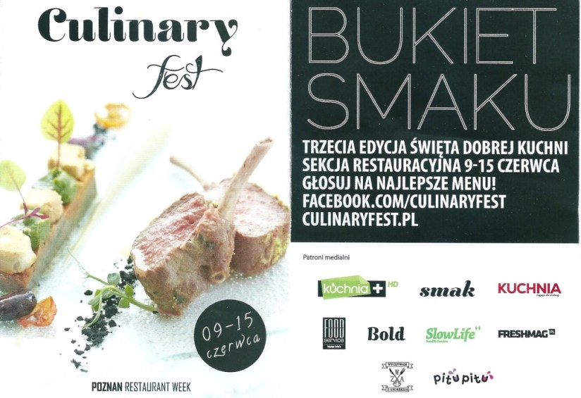 Poznań restaurant week - culinary fest