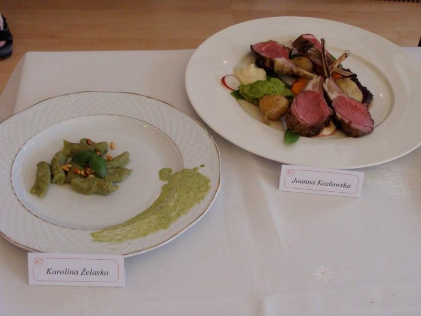 Finał Bloger Chef 2014 - dania finałowe, nieco juz przestygłe