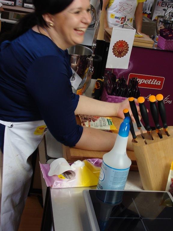 Finał Bloger Chef 2014 - Joasia w akcji