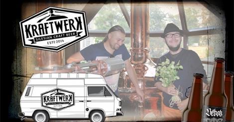 Piwowarzy z browaru Kraftwerk
