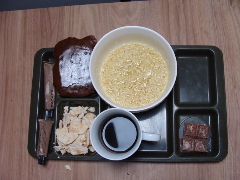 Racja armii australijskiej menu G - śniadanie