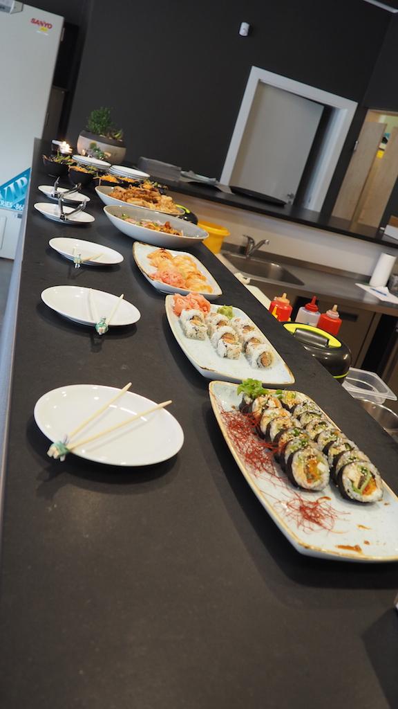 Sugomi Japanese Kaiseki Kamionki - bufet przystawek na degustację