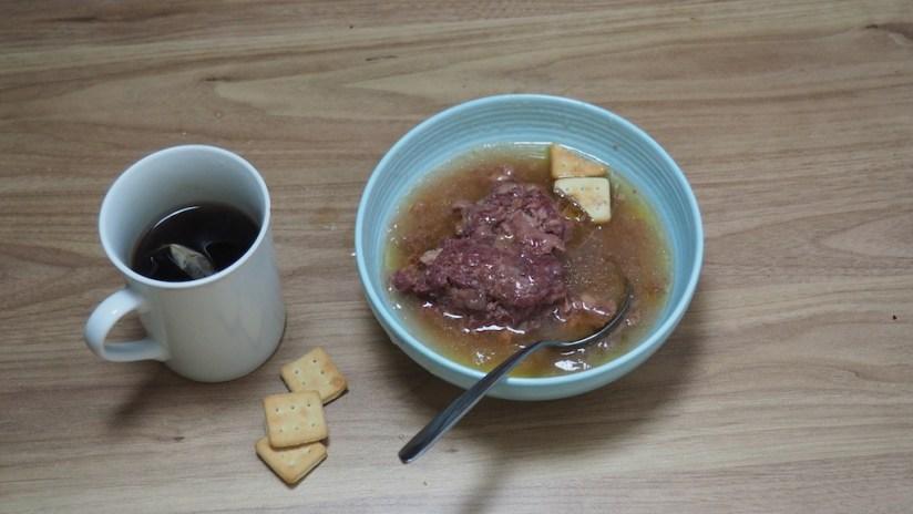Racja armii ukraińskiej 24h - obiad