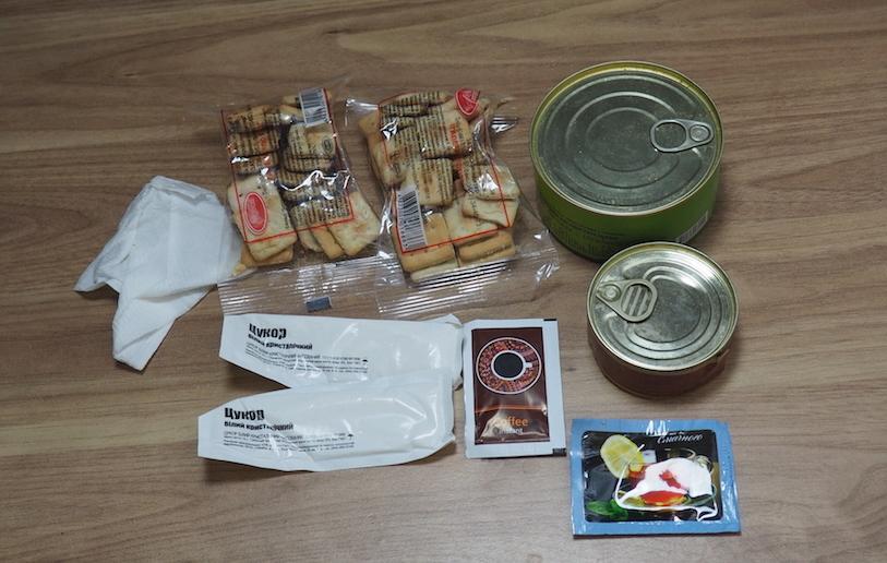 Racja armii ukraińskiej 24h - śniadanie