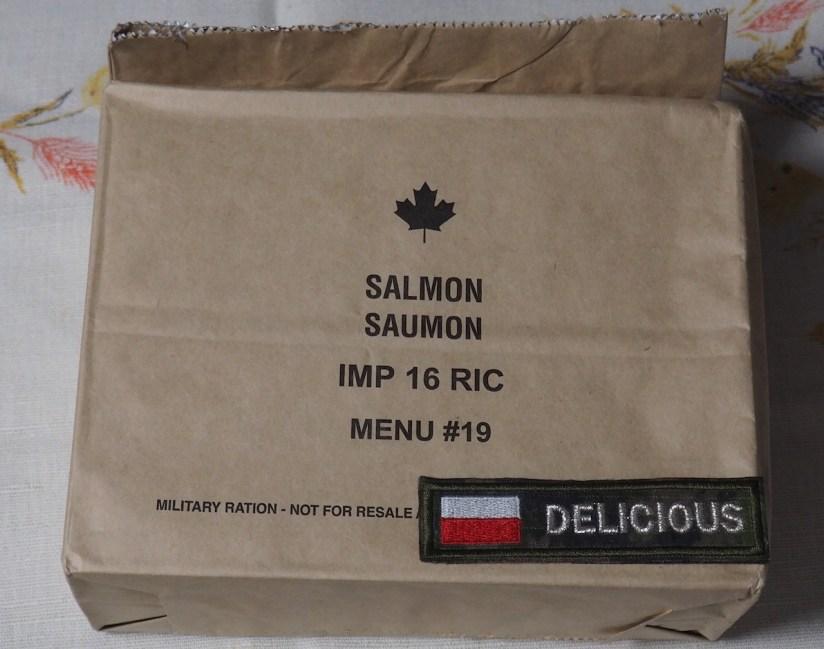 Racja armii kanadyjskiej menu 19