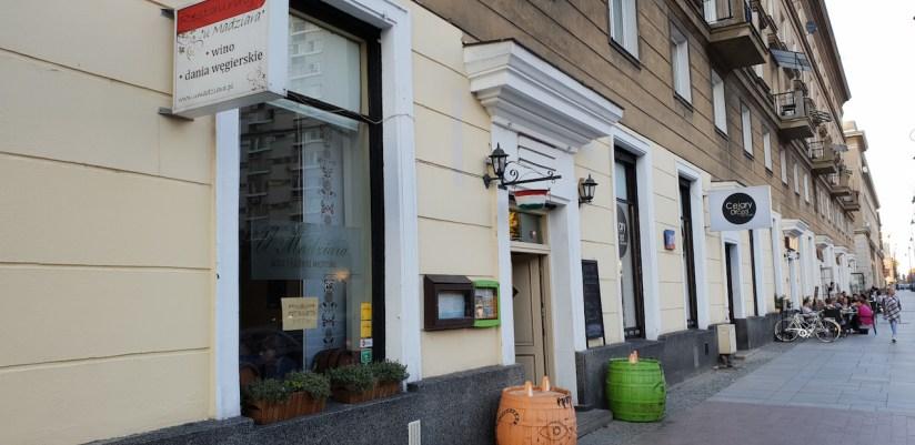 Restauracja U Madziara Warszawa ul. Chłodna 2/18
