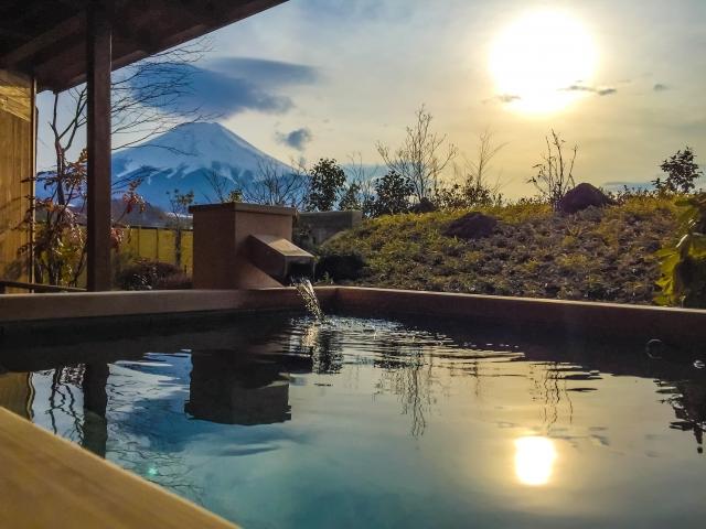 富士山 温泉