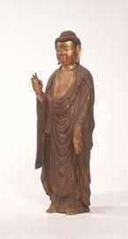 銅造 阿弥陀如来立像