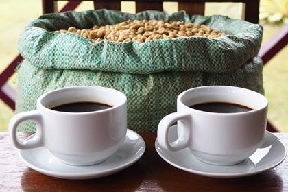 Enjoy our homemade coffee