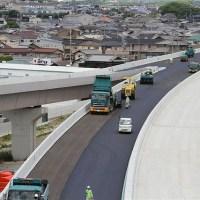 加古川小野線東播磨南北道路 舗装工事 2013-06-14舗装画像