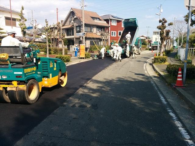明石市貴崎舗装工事 (4)