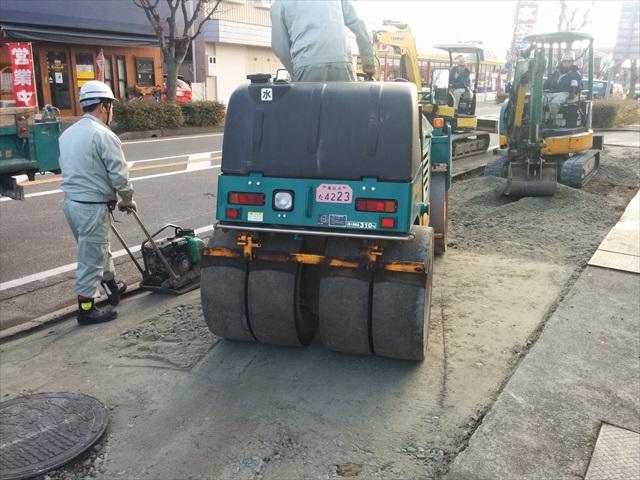 高砂市米田町米田歩道舗装 (6)