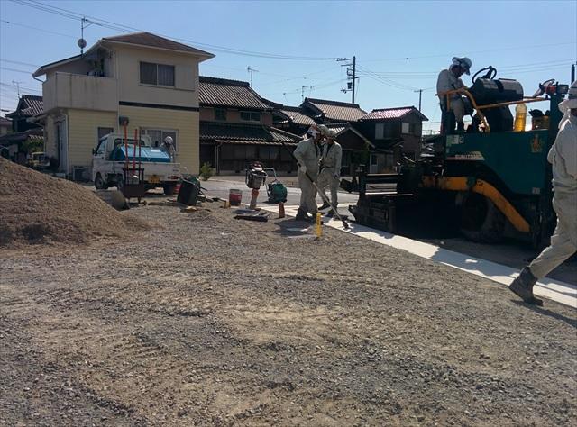 加古川市東神吉町西井ノ口舗装 (2)
