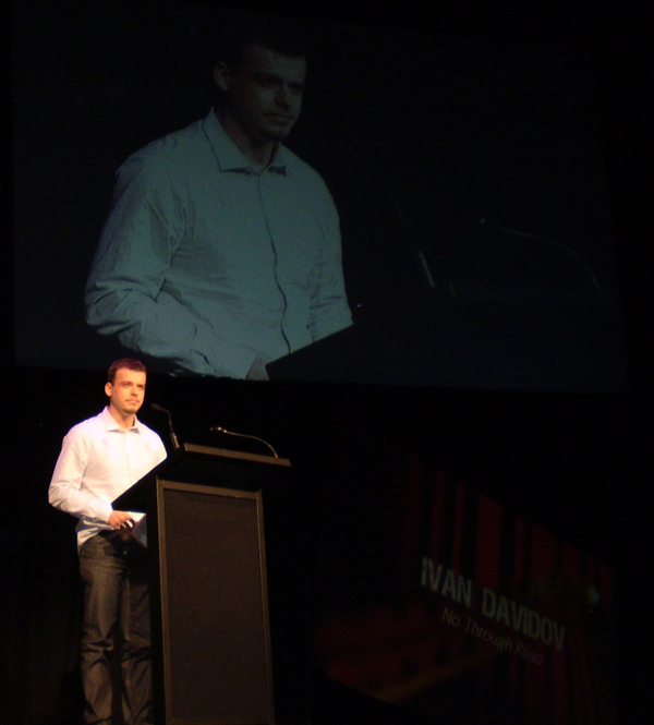 Ivan at the WASA awards