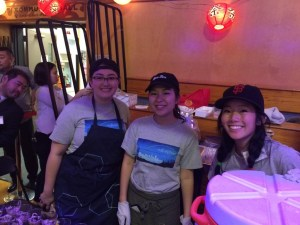 We had a good time makin g food and helping out at JCCCNC's Tabemasho again!