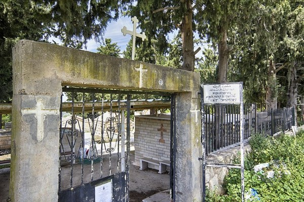 This Christian cemetery is one of the few remaining structures in the Palestinian village of Iqrith, whose ethnic cleansing in 1948 has been repeatedly upheld by Israel's Supreme Court (photo: Wikimedia commons).
