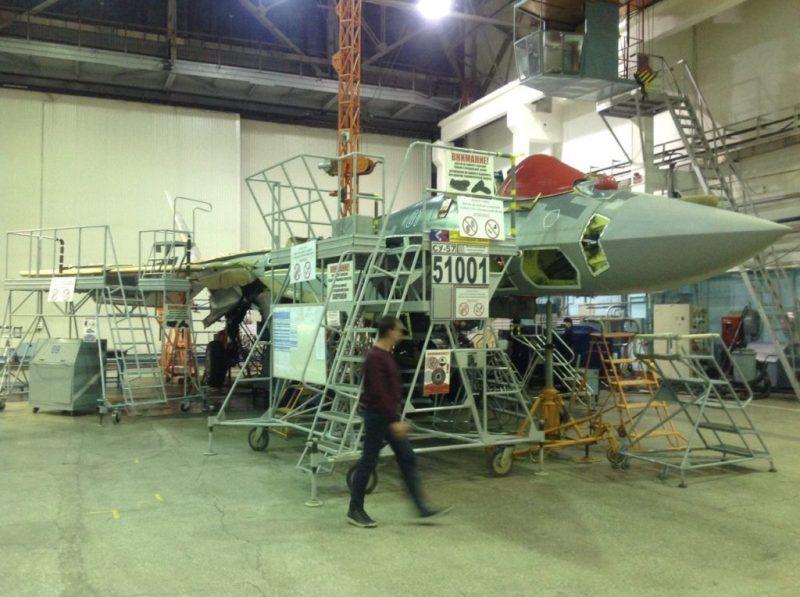 Источник: истребитель Су-57 начал отработку беспилотного режима