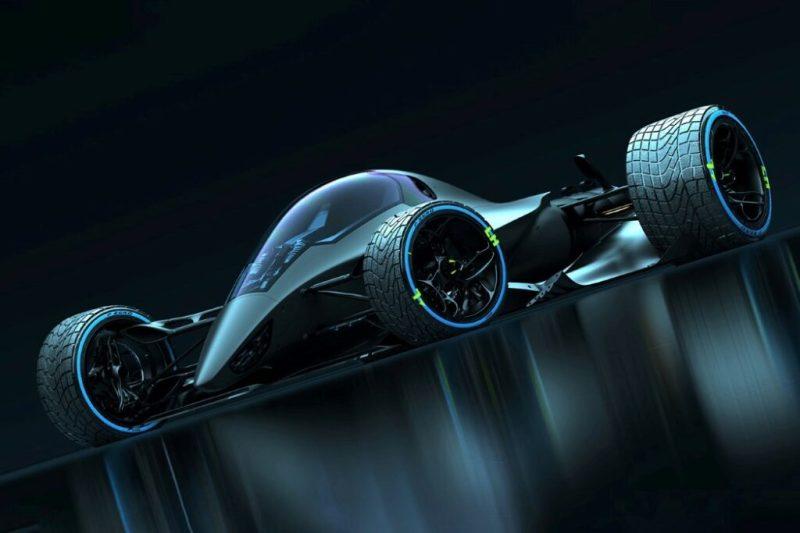 Истребитель на трассе «Формулы-1»