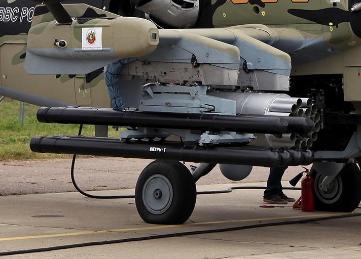 Ударный вертолет Ми-28Н вооружат улучшенным «Вихрем»