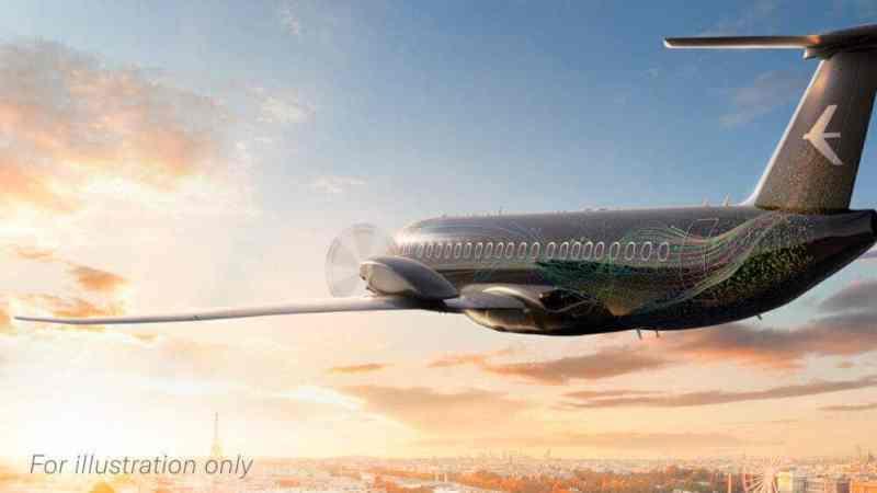 Embraer представила концепт турбовинтового авиалайнера