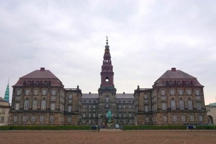 덴마크 의회에서 테러 경보 해프닝