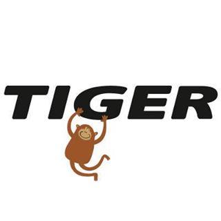 덴마크의 다이소 1000원샵, TIGER 샵의 로고